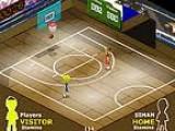 Баскетбол один на один. Старайтесь отобрать мяч у соперника и поскорее отправить его в кольцо.