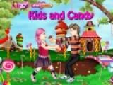 Эта игра представляет собой красочные одевалки для девочек и для детей. В ней Вам придется одеть детвору, которая играет на улице и спорит кому же достанутся самые вкусные конфеты. Подберите девочке и мальчику костюмы, что бы они выглядели ярко и весело.