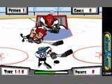 Да, создатели этой игры знают толк в настоящем хоккее. Берегитесь силовых приёмов противника.