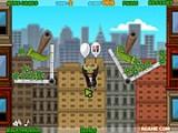 В игре Amigo Pancho 2: New York Party вы снова должны помочь Панчо в его полетах на воздушных шариках. Так как он хочет подняться как можно Выше, Вы будете убирать с его пути препятствия и предметы, которые могут повредить его шарикам!