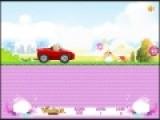 Барби очень любит свой автомобиль, но вот управляет им она не очень хорошо. Помоги Барби в этой увлекательной игре для девочек  добраться до финиша и не перевернуться преодолевая уклоны неровной трассы.