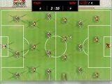 Эта игра является симулятором настольного футбола с игроками на пружинках. Забей как можно больше голов в ворота за 3 минуты!