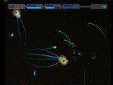 Эта игра представляет собой отличную космическую леталку-стрелялку. Вы управляете небольшим звездолетом на котором установлено четыре вида оружия. Этого более чем достаточно что бы уничтожить врага.