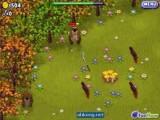 Лесные зверушки снова пытаются стащить грибы с вашей полянки! Не дайте им это сделать, отбивая все их атаки разным оружием - от тенисной ракетки до булавы.