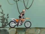 Очень динамичное и полное опасных препятствий на мотоцикле порадует всех любителей приключений. Знаменитая Лара Крофт запомнившаяся всем из серии игр Tomb Raider про расхитительницу гробниц. В этой игре Лара будет путешествовать на скоростном байке. Ваша задача помочь ей преодолеть весь путь.